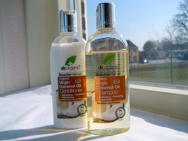 dr organic kokos shampoo